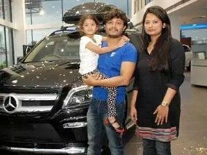 shilpa-ganesh-gift-mercedes-gl-350-amg-birthday