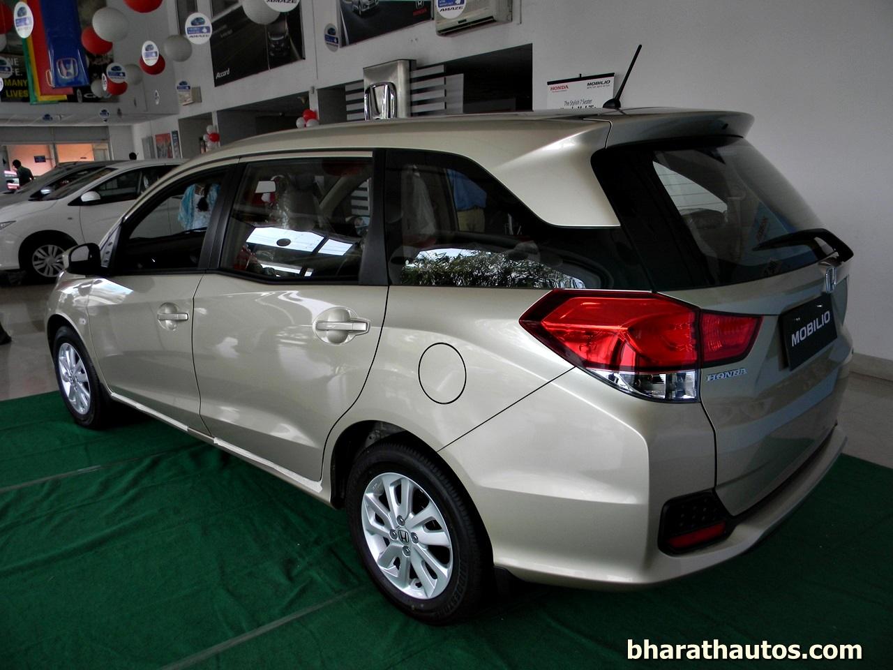 Honda Cars India Launched The 7-seater Honda Mobilio MPV