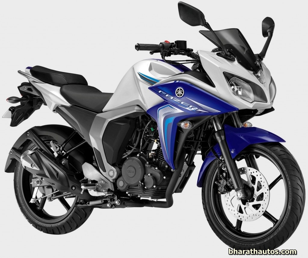 The Yamaha Fazer Fi Version 2 0 Is Available In One Variant And Is on suzuki cg 125 2014 model