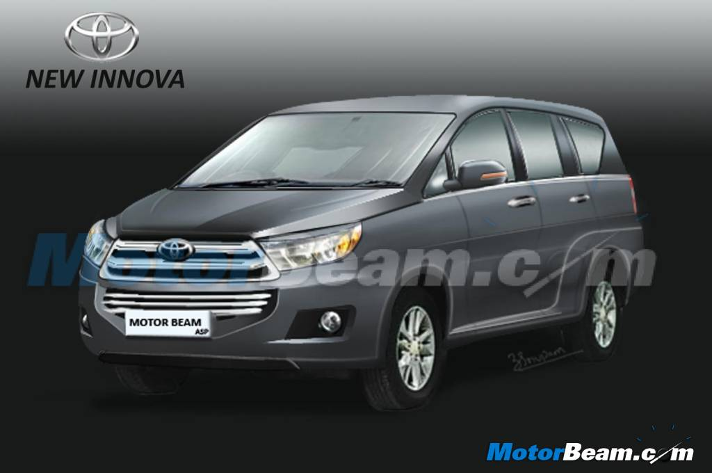 Next gen toyota innova renderings shown mid 2016 debut