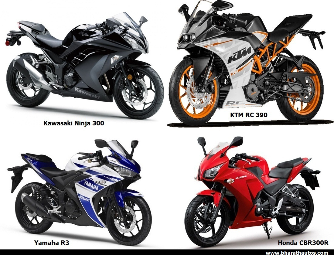 ktm launches india made 390s in us, ninja 300 cheaper than rc390