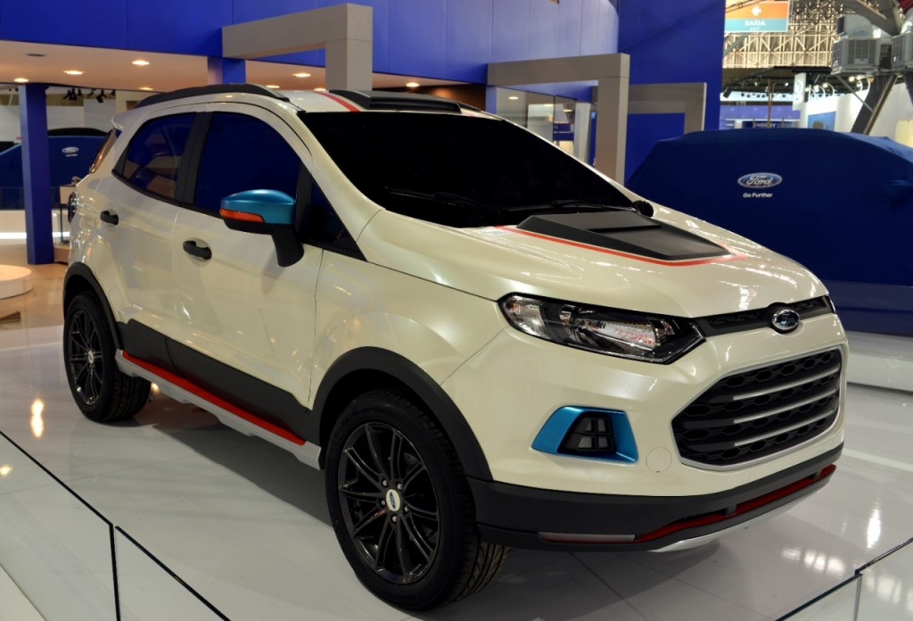 Ford EcoSport Storm, Beauty, Beast concepts showcased at