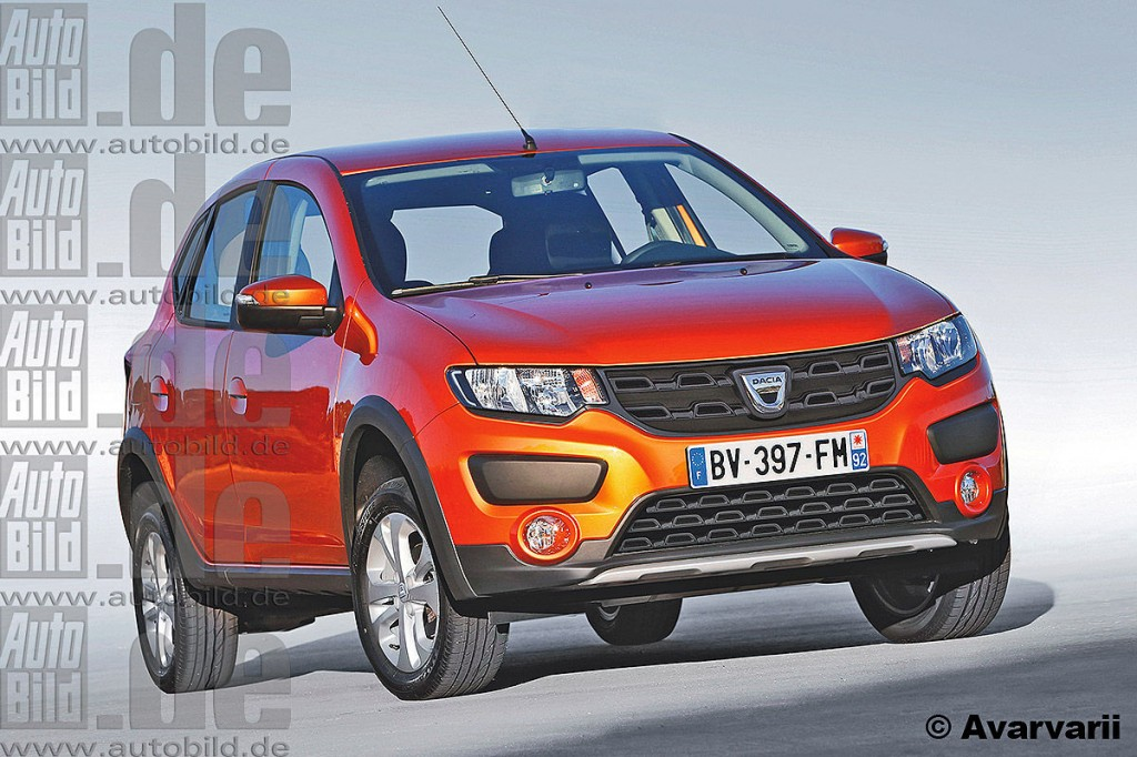 rendered renault dacia low cost mini suv ecosport rival for india. Black Bedroom Furniture Sets. Home Design Ideas