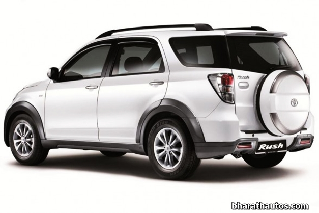 Toyota Rush In India >> SPIED: Toyota Rush Compact SUV benchmarked against Nexon, YBA, ix25