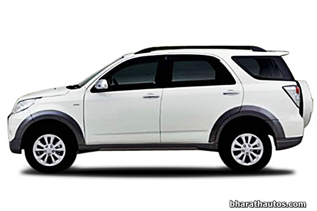 SPIED: Toyota Rush Compact SUV benchmarked against Nexon ...