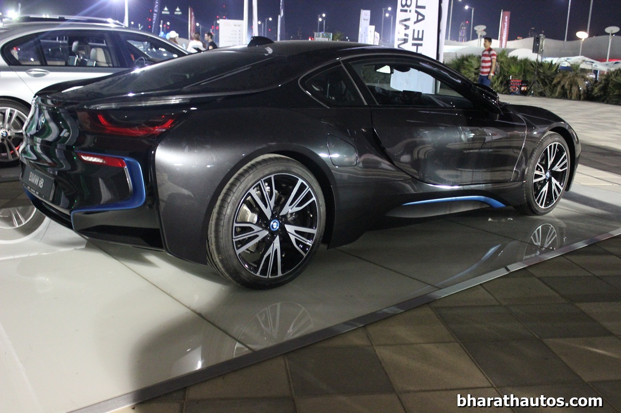 bmw i8 spied in india before febraury 2015 launch. Black Bedroom Furniture Sets. Home Design Ideas
