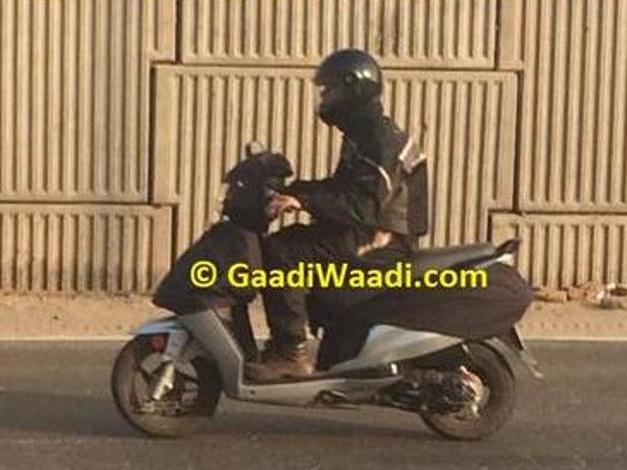 hero-dash-110cc-scooter-spied