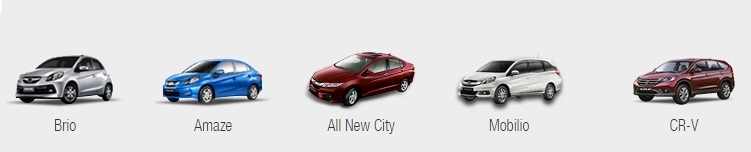 Honda all cars price list in india 2015 16