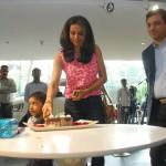 mahindra-reva-e2o-birthday-gift-gul-panag-002