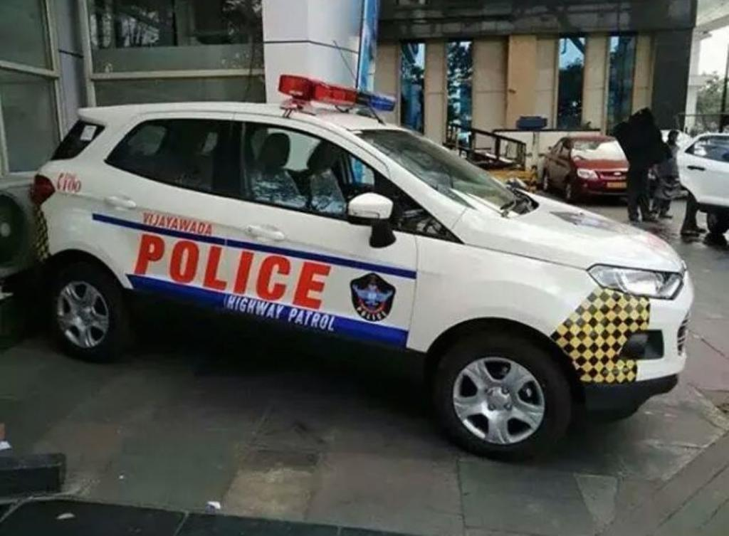 Ford Ecosport Police Patrol Cars Handed Over For