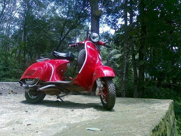 Modified chetak scooter