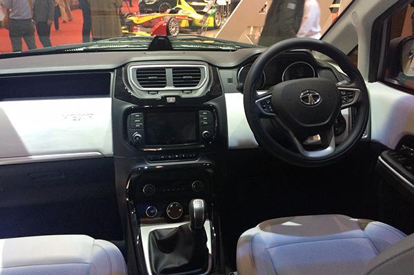 Tata Hexa Concept – Aria facelift makes its debut at ...