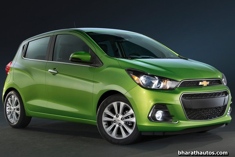 2016 chevrolet spark beat for india breaks cover closely resembles 2016 cruze