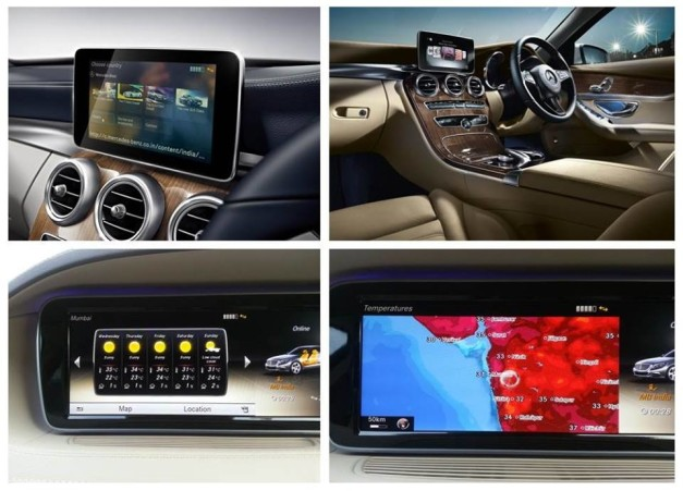 Mercedes benz india introduced cloud based apps with for Mercedes benz apps
