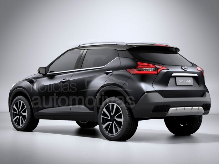 Upcoming Nissan Compact SUV rendered, debut at 2016 Auto Expo?