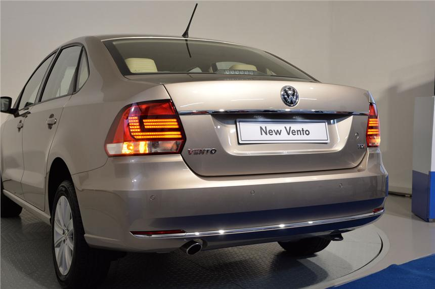 2015 Volkswagen Vento Facelift First Photos Surfaced