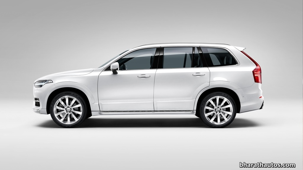 2015 volvo xc90 suv launched in india rs 64 9 lakh. Black Bedroom Furniture Sets. Home Design Ideas