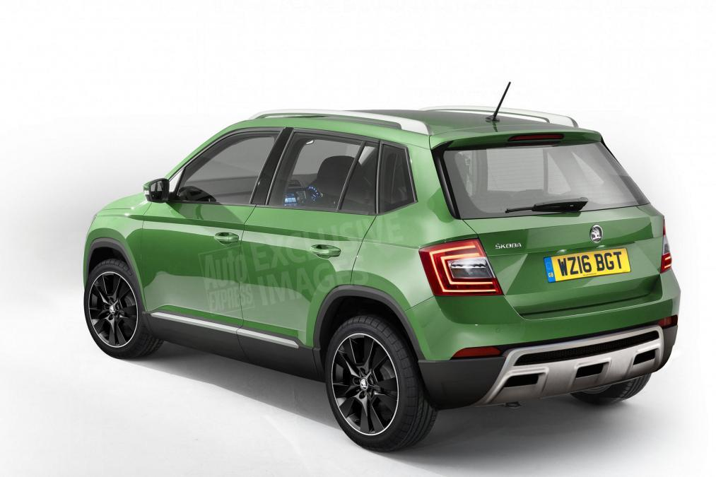 Koda Is Working On A Fabia Based Compact Crossover