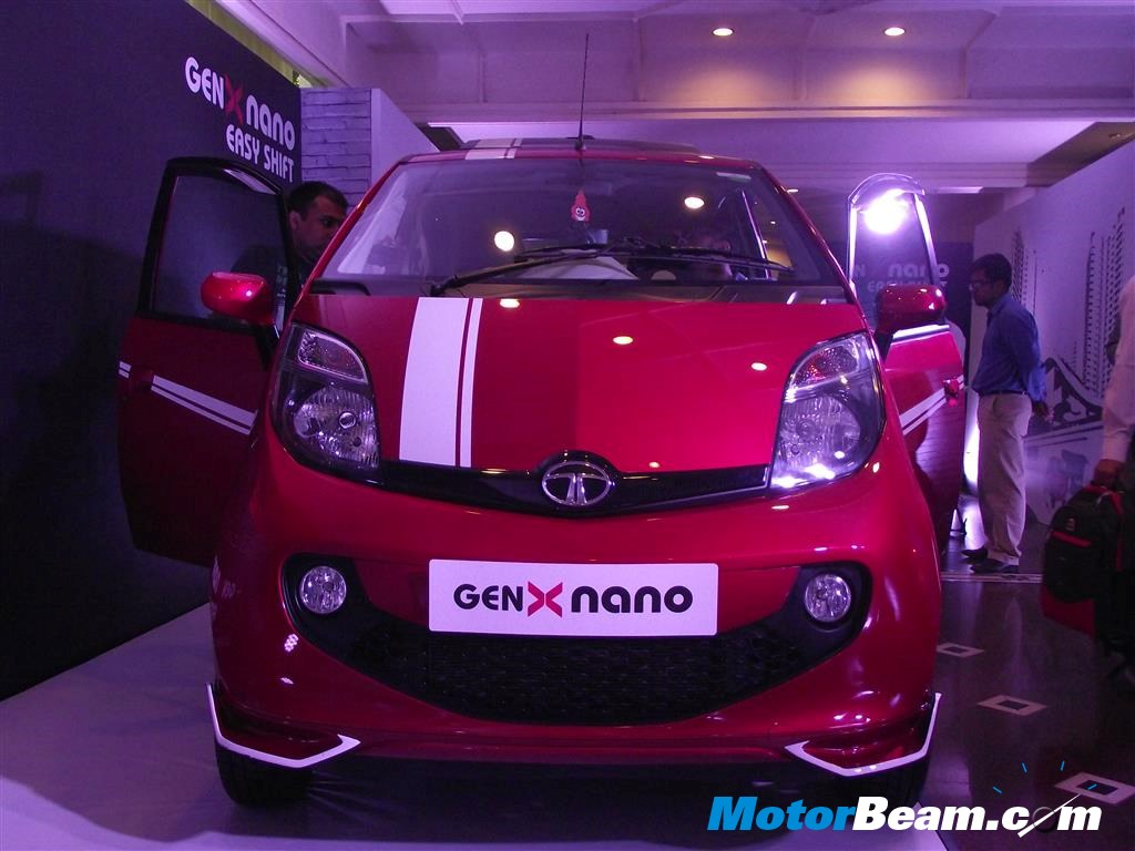 Tata Genx Nano: Tata GenX Nano Accessories Showcased
