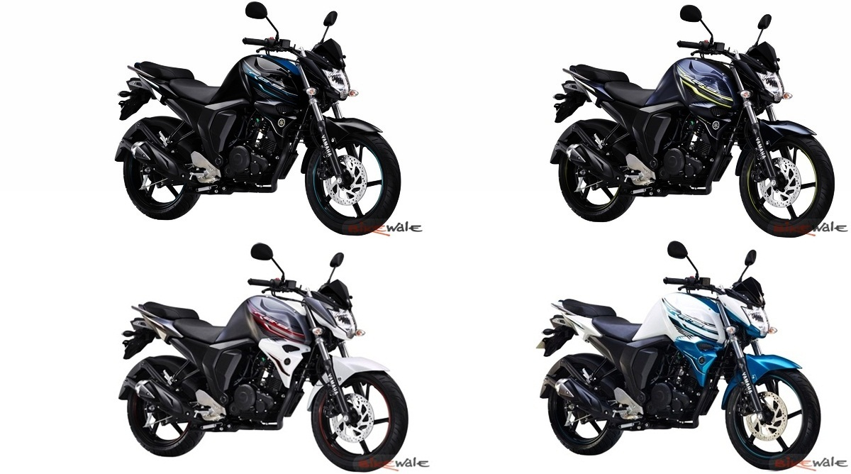 Yamaha FZ-S Version 2.0 (Fi) - four new exciting colours added