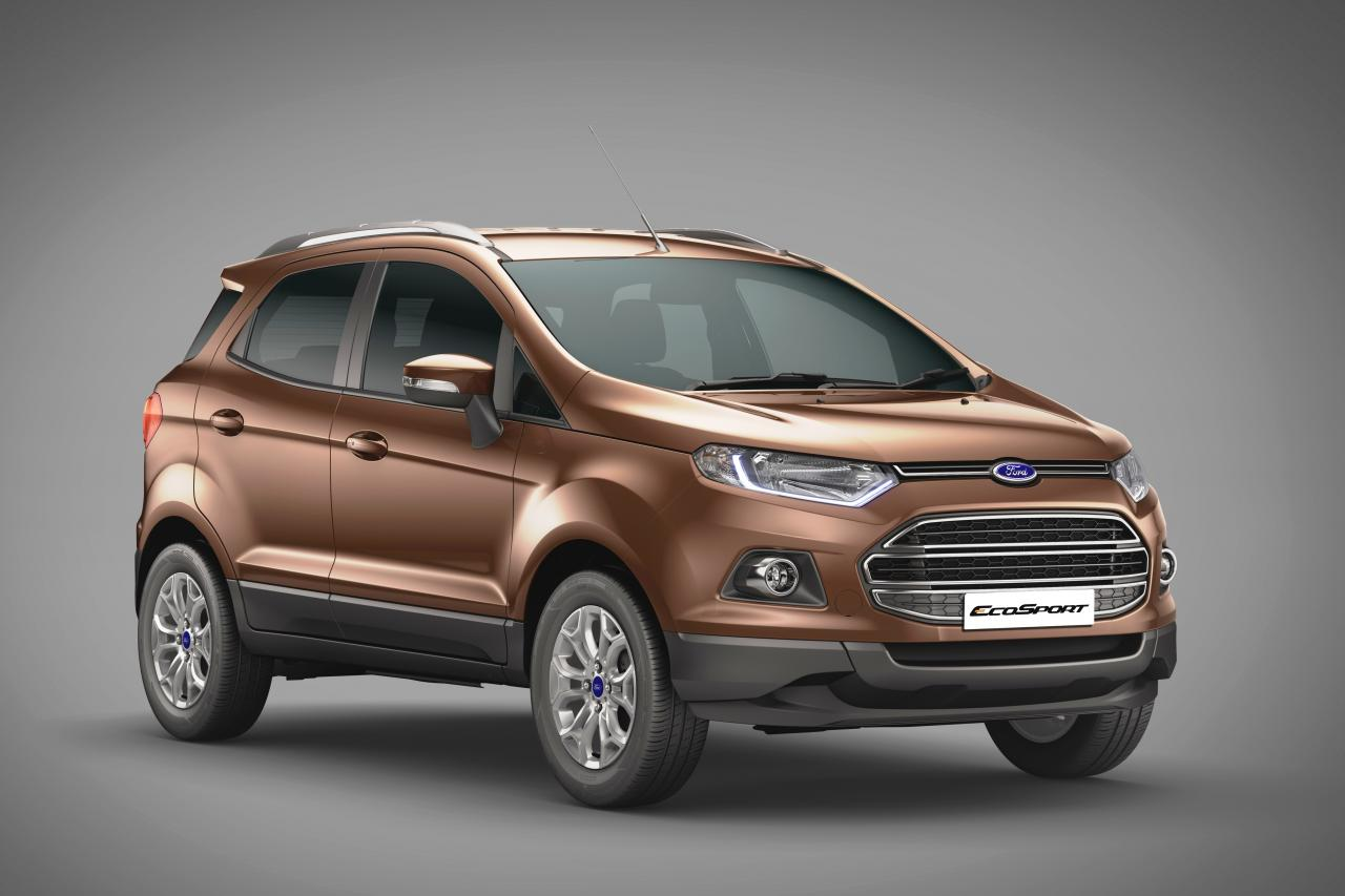 2016 ford ecosport launched gets more powerful diesel engine. Black Bedroom Furniture Sets. Home Design Ideas
