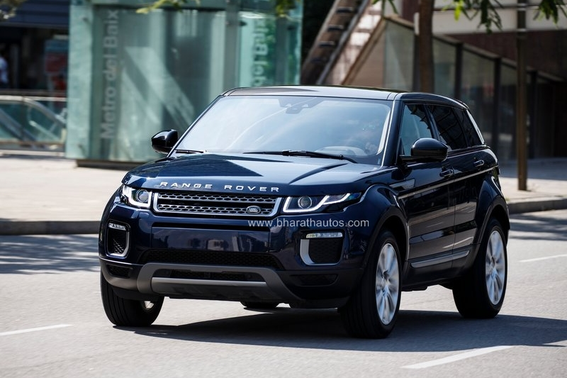 range rover evoque facelift on sale in india starts from rs 47 1. Black Bedroom Furniture Sets. Home Design Ideas