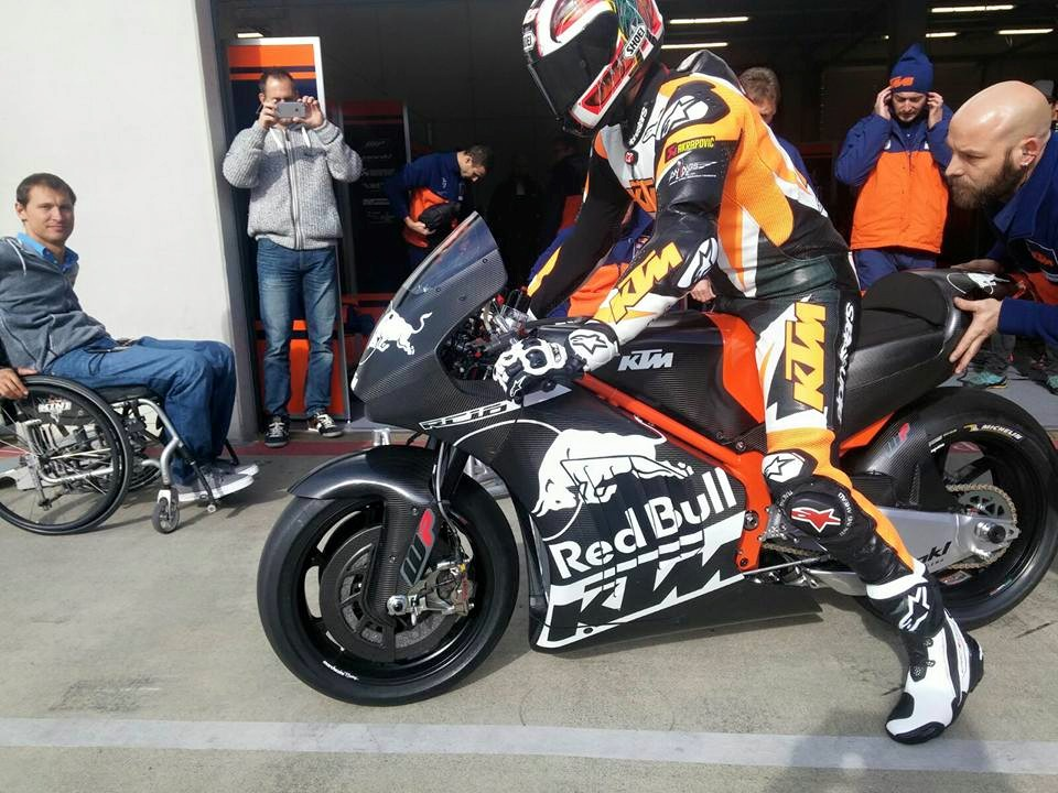 Ktm Unveils The Rc16 Protoype Their Contender For The