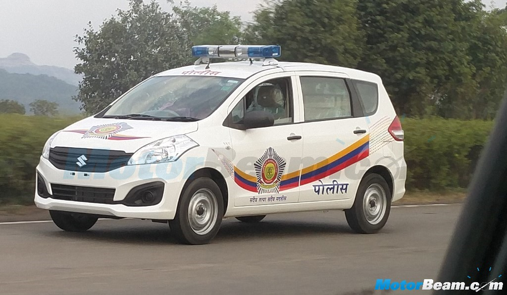 Mumbai Police Replace Bolero And Qualis With Maruti Ertiga