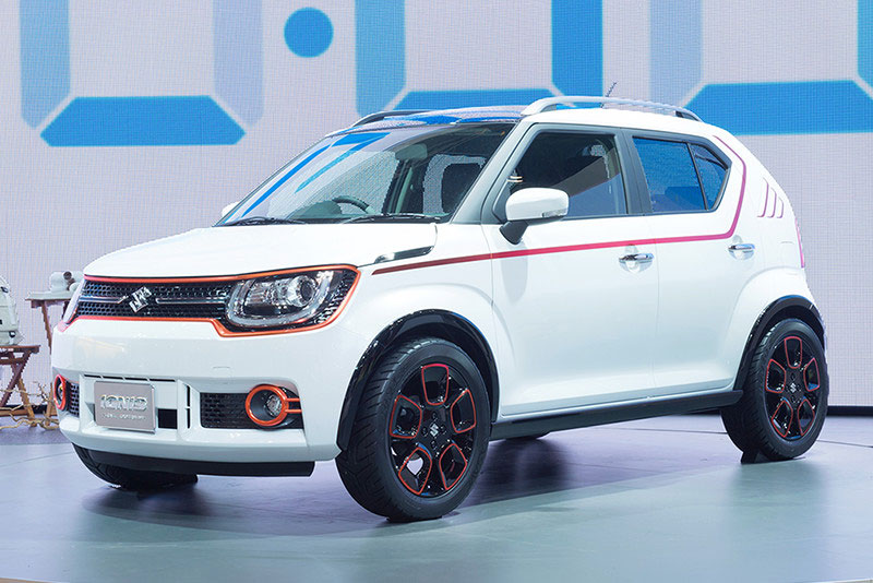 maruti suzuki to showcase ignis at 2016 indian auto expo launch in