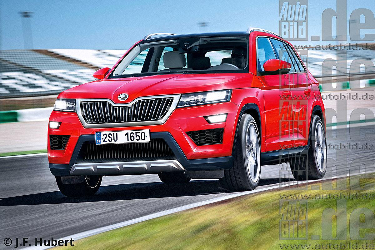 Skoda 7-seater SUV may be called Kodiak - world debut in ...