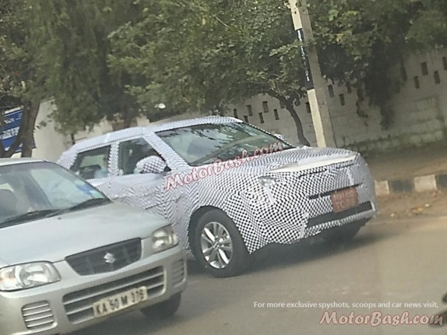 ssangyong-tivoli-india-spied-front
