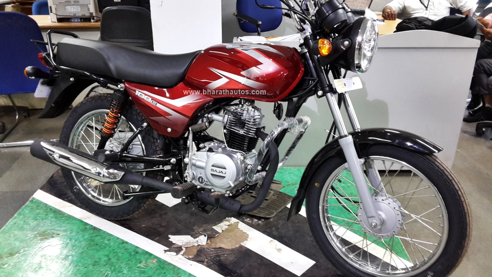 All New 2016 Bajaj Ct 100b Snapped At A Dealership In Mangalore Video