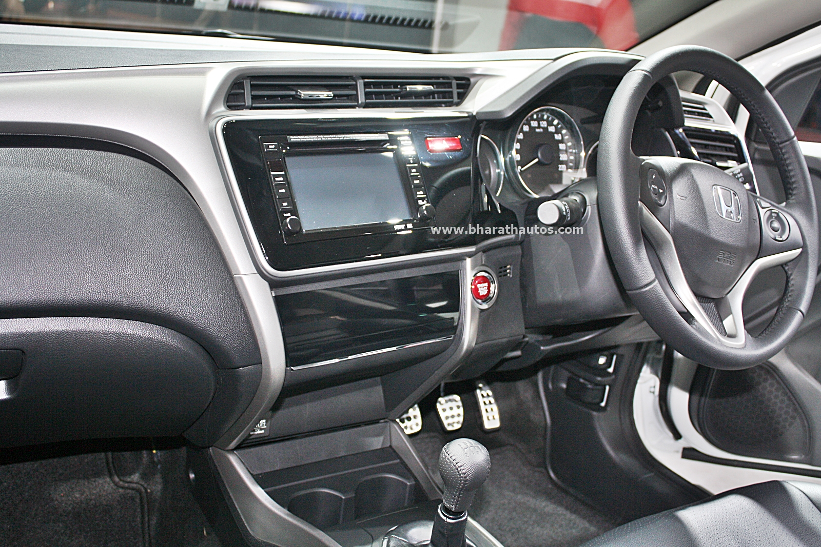 Honda City - kitted-up model with Black interior at 2016 Auto Expo