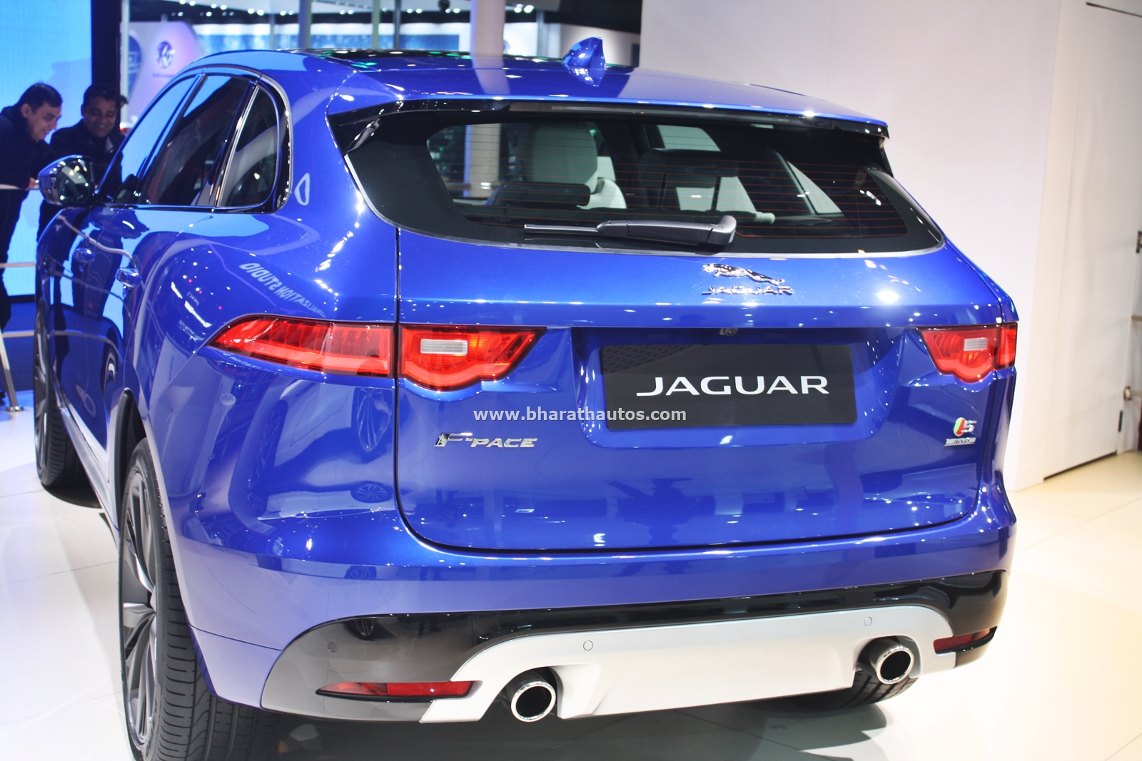 All New Jaguar F Pace SUV debuts in India at the 2016 Auto