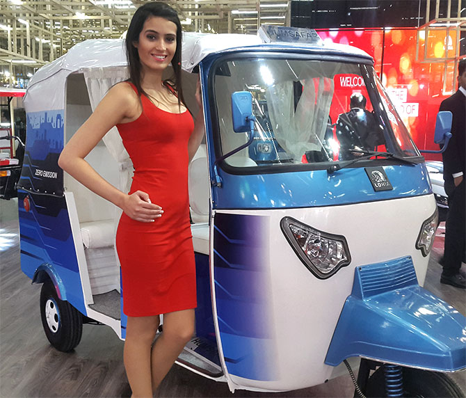 Lohia Auto's range of lithium ion battery operated ...