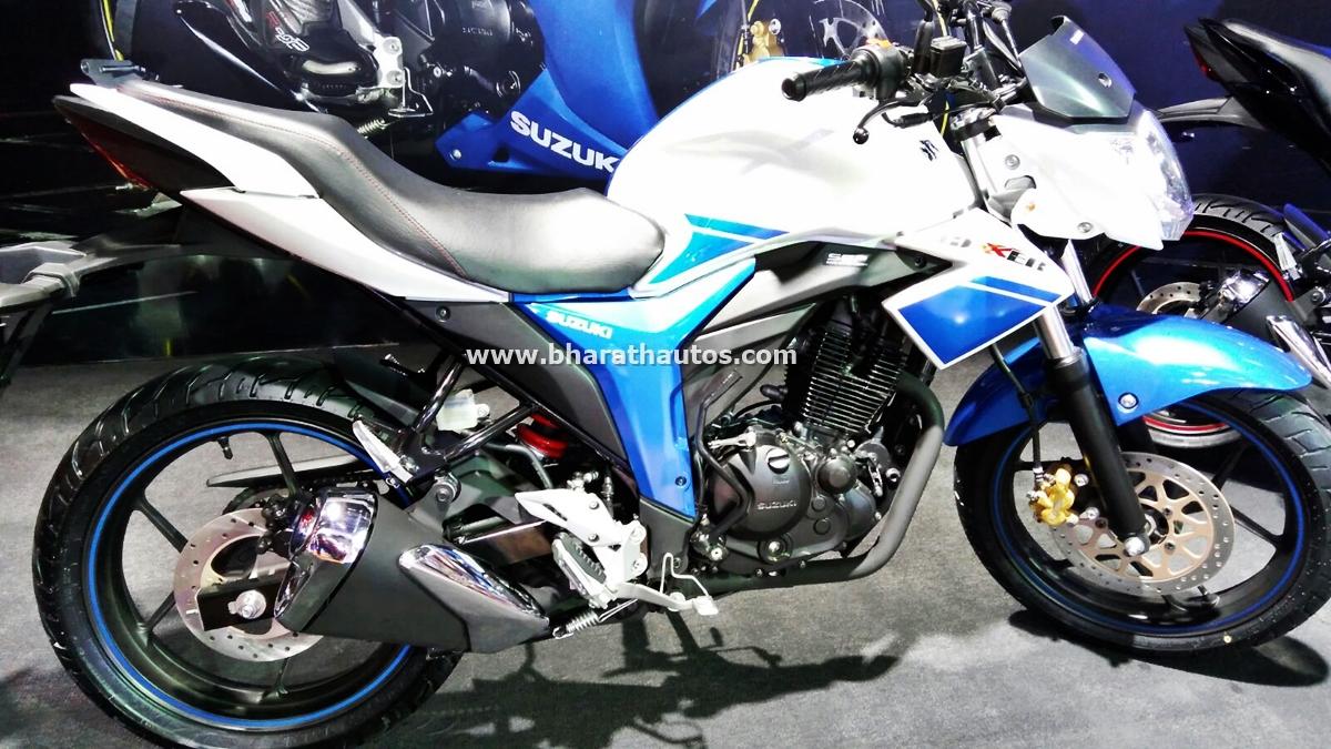 Suzuki Motorcycles India at 2016 Auto Expo, unveils new ...