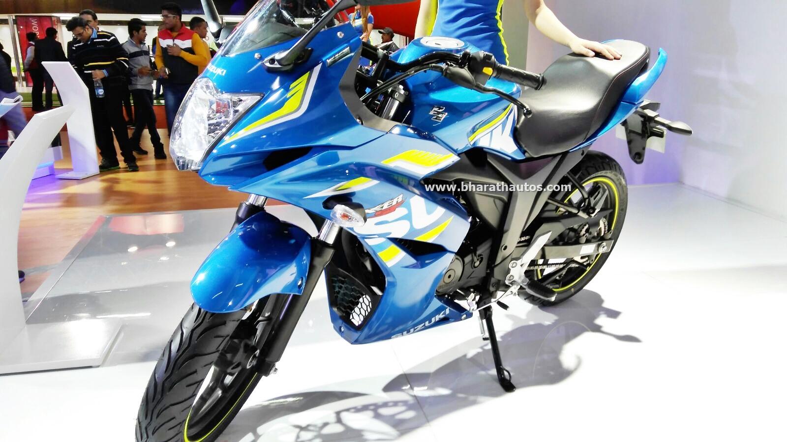 Suzuki quadsport z400 reviews prices and specs autos weblog suzuki - Suzuki Gixxer Sf Fi 2016 Auto Expo India