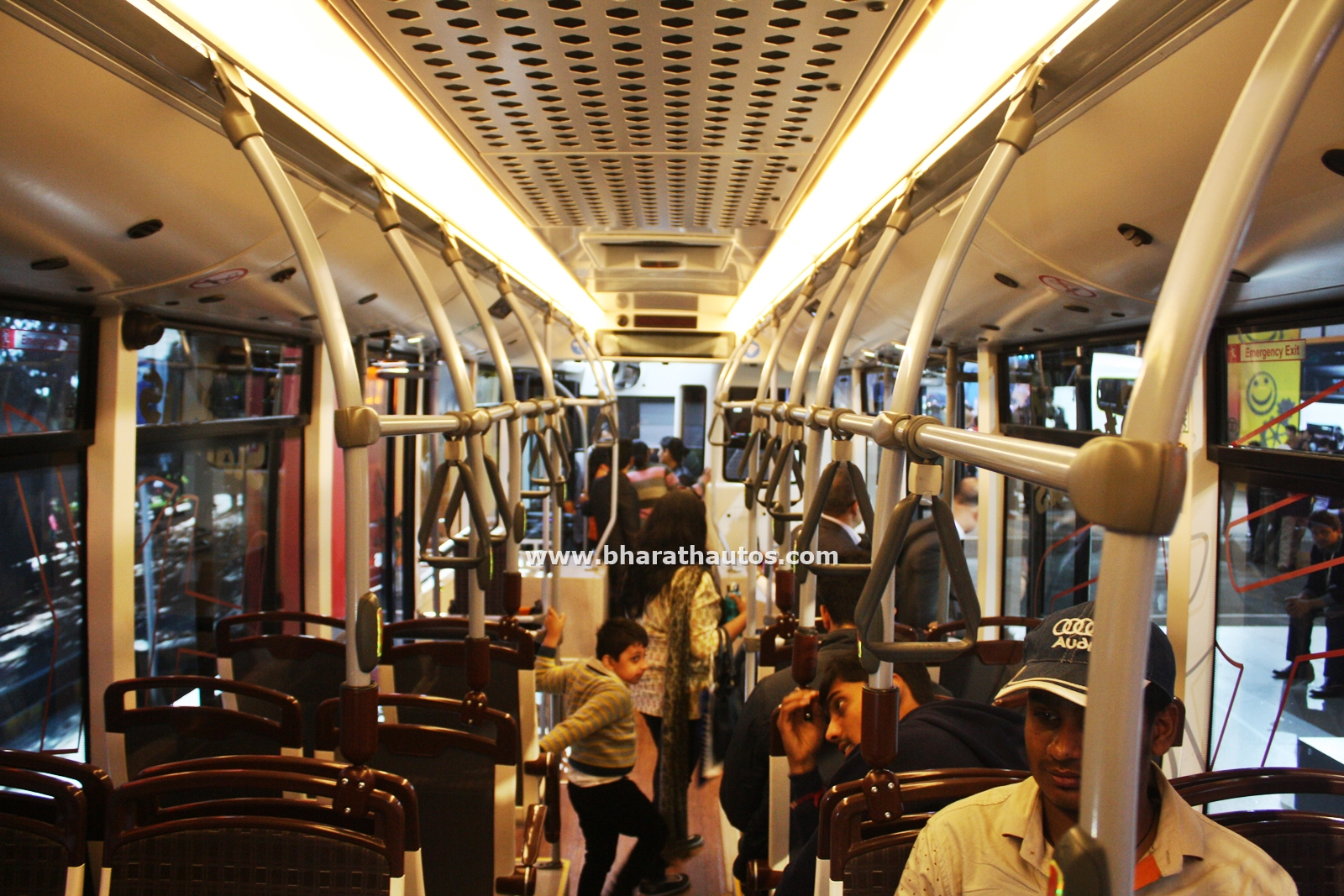 Tata Ultra Electric Bus Concept Looks to Future of Public ...  |Tata Prima Bus Interior