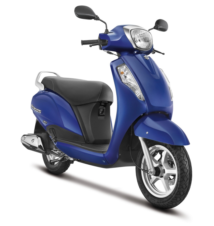 2016 suzuki access 125 launched priced rs 53 887 gets disc brake option. Black Bedroom Furniture Sets. Home Design Ideas
