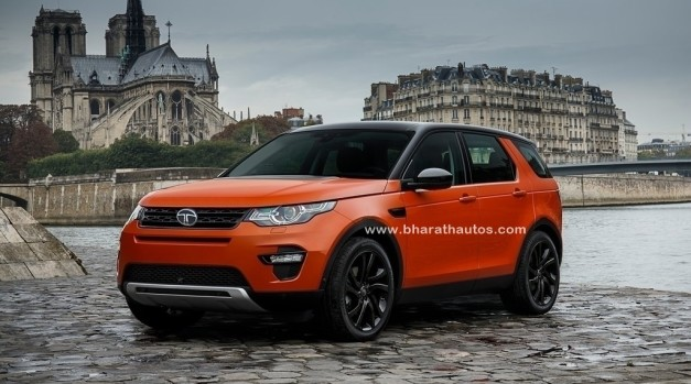Tata Q501 and Q502 based on Land Rover Discovery Sport in 2018