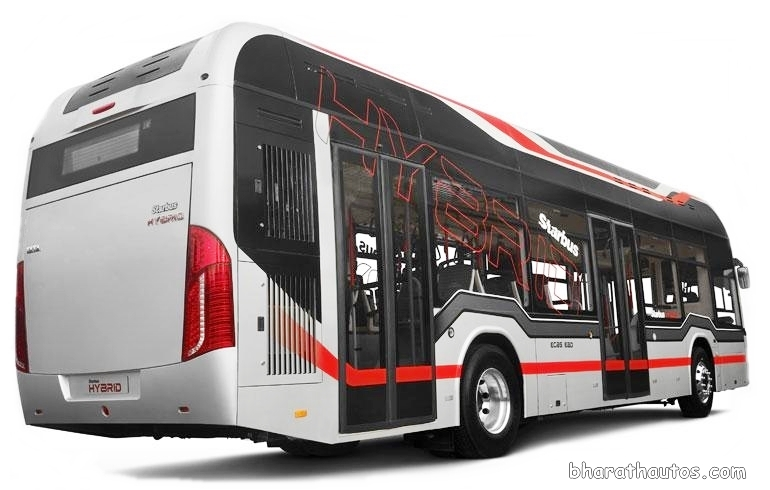 Tata Starbus Hybrid Electric Bags 25 Buses Order From Mmrda