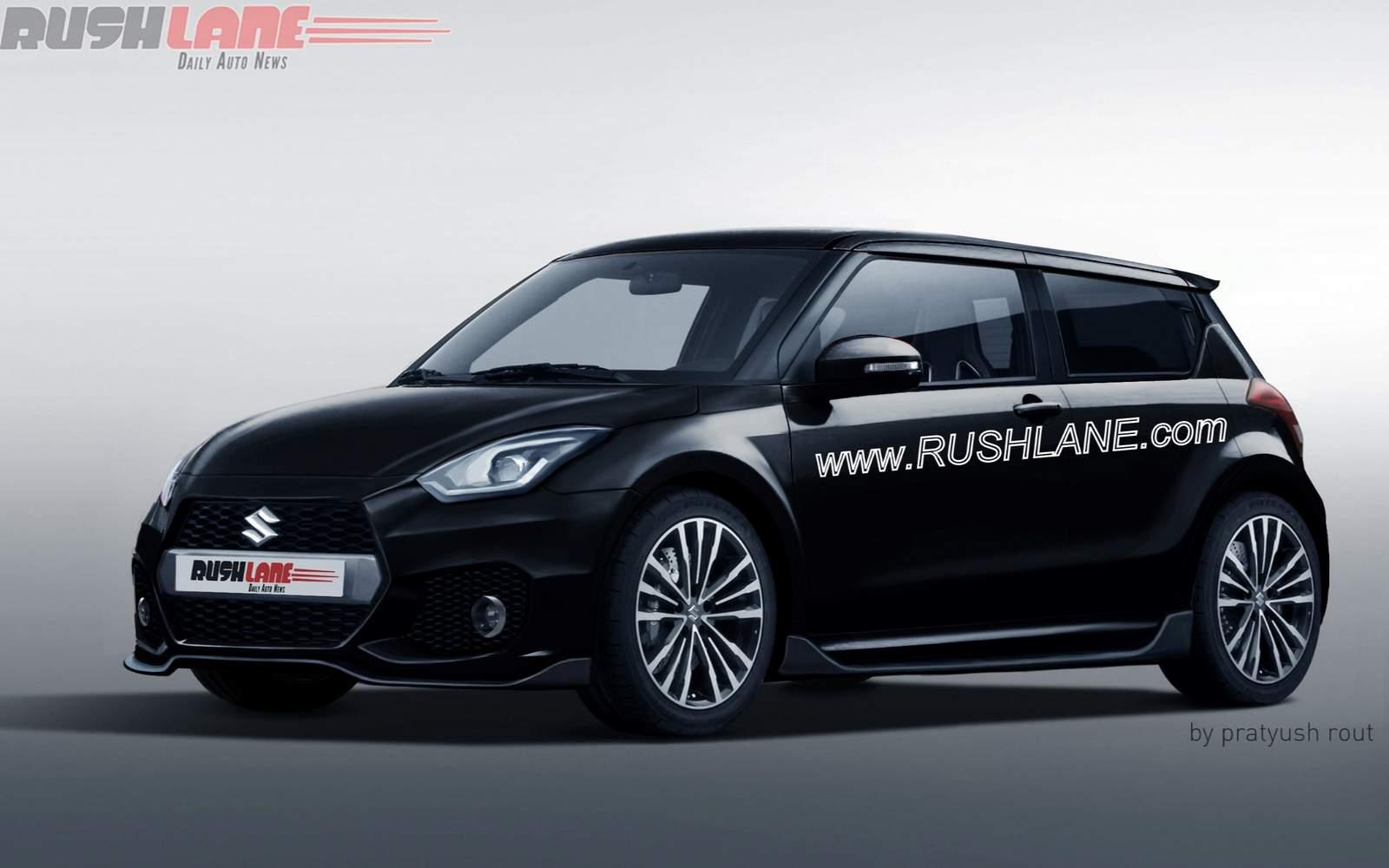 Upcoming Suzuki Swift rendered as third-gen Sport model
