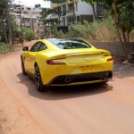 aston-martin-vanquish-sunburst-yellow-back-mangalore-karnataka-india