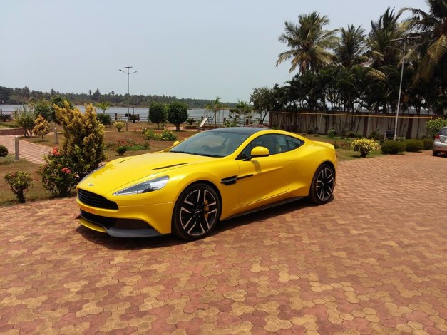 aston-martin-vanquish-sunburst-yellow-side-profile-mangalore-karnataka-india