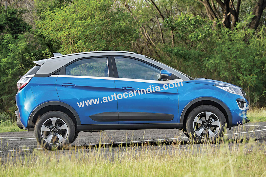 Tata Nexon Fully Revealed In 9 Pictures Shapes A Modern
