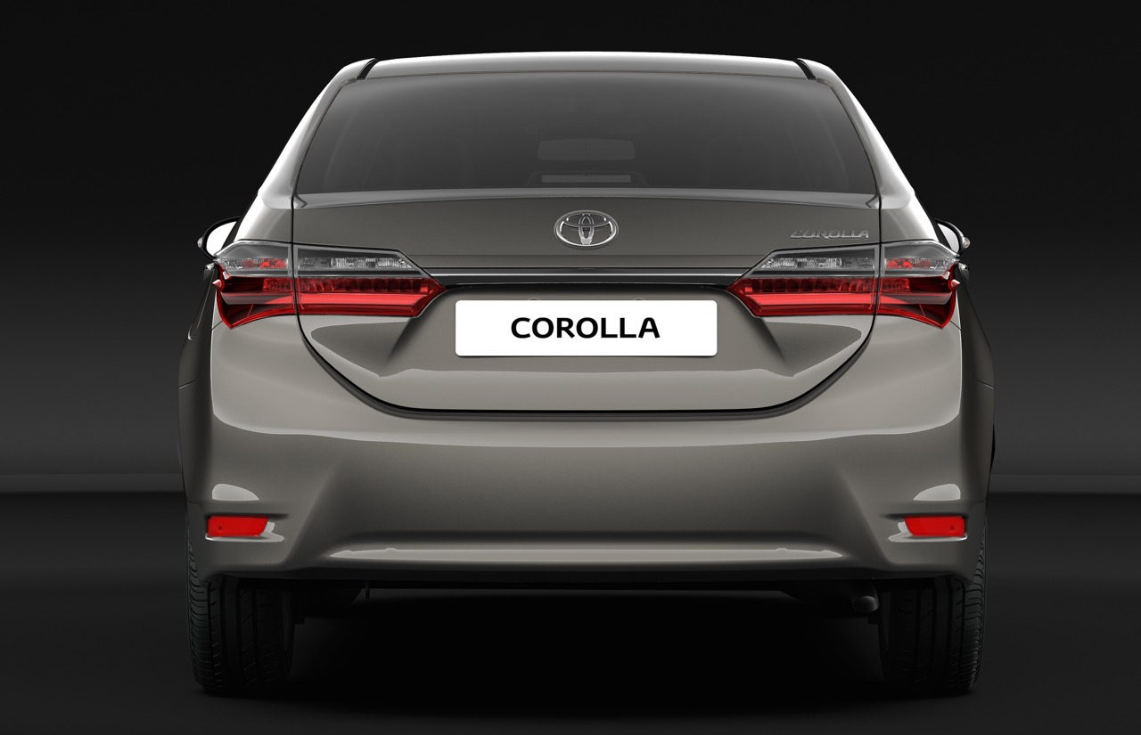 2016 toyota corolla facelift rear back pictures photos