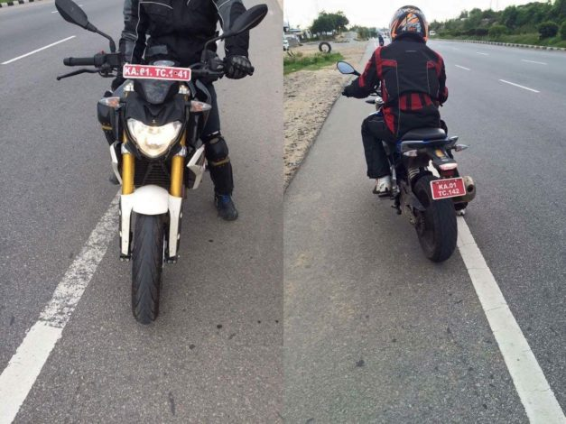 bmw-g310r-spied-front-rear-back-chennai-bangalore-hosur-india