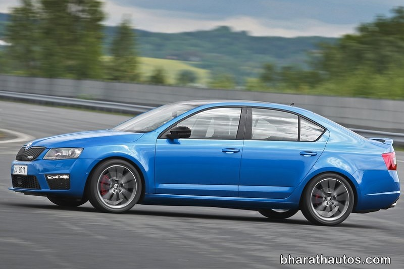 Skoda Octavia vRS rumored to launch in India  going faster again