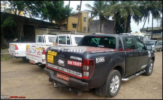 tata-xenon-xt-pickup-facelift-automatic-gearbox-ford-ranger-rear-back-spied-pictures-photos-images-snaps