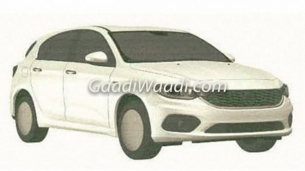 fiat-tipo-hatchback-patents-leaked-indian-market
